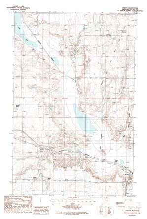 Virden topo map