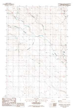 Johannson Coulee topo map