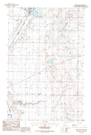 Kevin South topo map