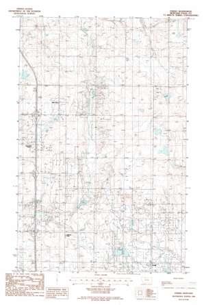 Ferdig USGS topographic map 48111g7