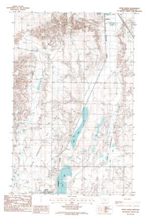 Kevin North topo map