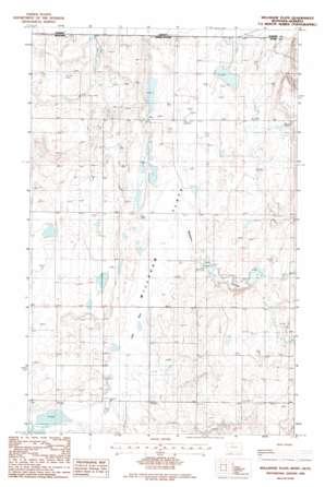 Willshaw Flats topo map