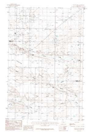Gallup City topo map