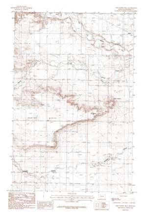 Sam George Hill topo map
