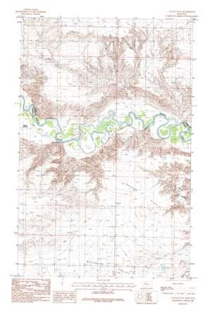Cactus Flat topo map