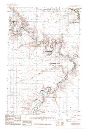 Rock City USGS topographic map 48112d3