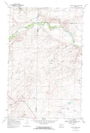 Rocky Ridge topo map