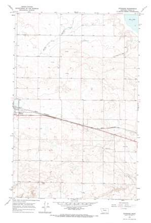 Ethridge USGS topographic map 48112e1