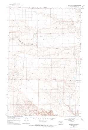 Squaw Buttes USGS topographic map 48112e4