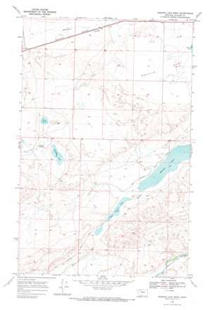 Mission Lake West USGS topographic map 48112e6