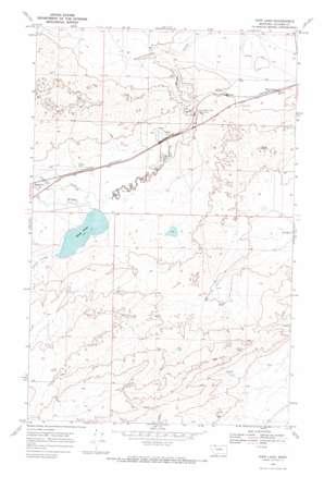 Kipp Lake USGS topographic map 48112e7