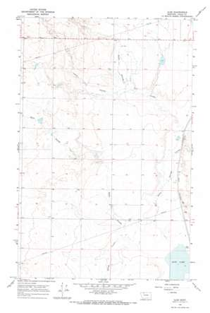 Aloe topo map
