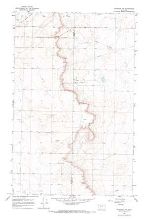Ethridge Nw topo map
