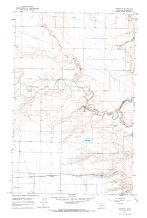 Gunsight topo map