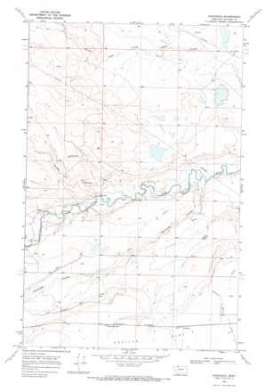 Sundance topo map