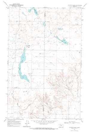 Glacier Colony topo map