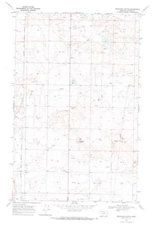 Headlight Butte topo map