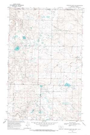 Headlight Butte Ne topo map