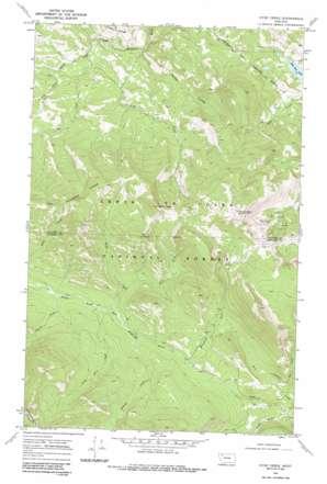 Hyde Creek USGS topographic map 48113c2