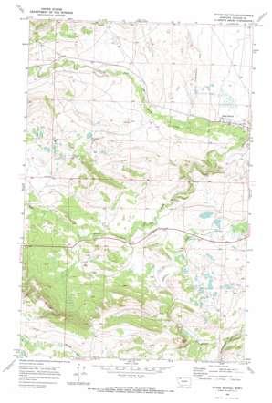 Starr School topo map