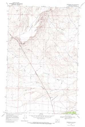 Browning Ne topo map