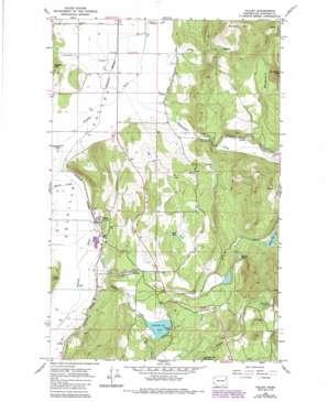Valley topo map