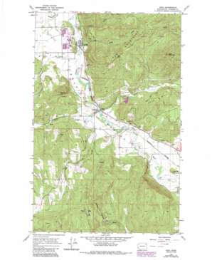 Addy topo map