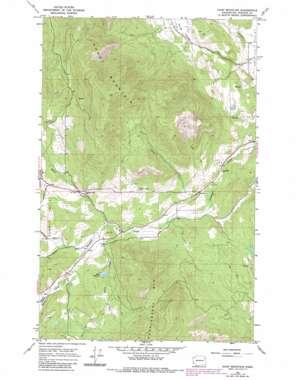 Dunn Mountain topo map
