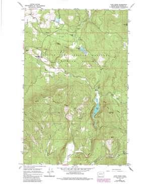 Cliff Ridge USGS topographic map 48117d6