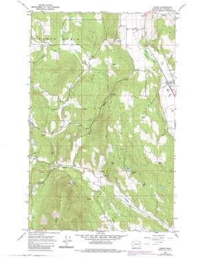 Arden topo map