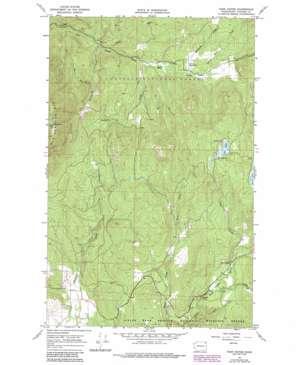 Park Rapids topo map