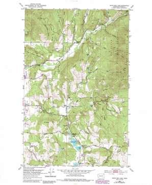 White Mud Lake topo map