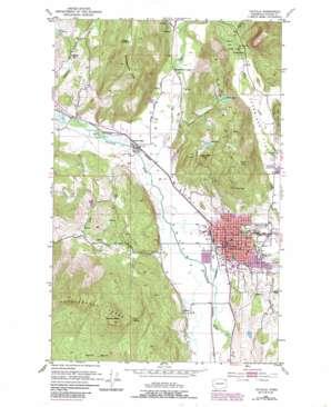 Colville topo map