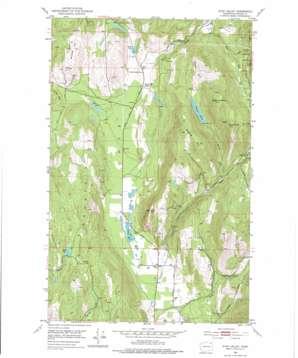 Echo Valley topo map