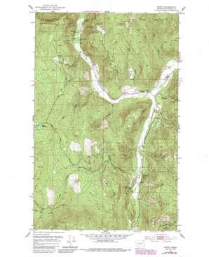 Spirit topo map