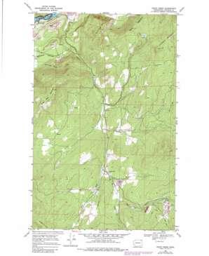 Onion Creek topo map