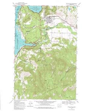 Kettle Falls topo map