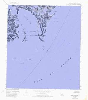 Garden Island Pass USGS topographic map 29089a1