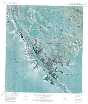 South Pass topo map