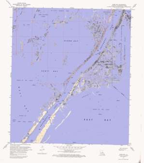 Dixon Bay USGS topographic map 29089a3