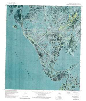 Pass Tante Phine USGS topographic map 29089b4