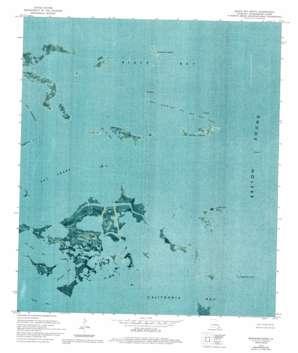Black Bay South USGS topographic map 29089e5