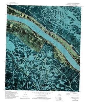 Pointe A La Hache USGS topographic map 29089e7