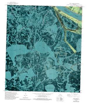 Lake Laurier USGS topographic map 29089e8
