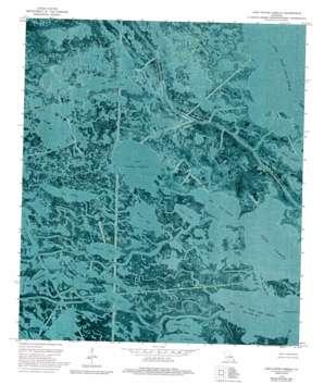 Lake Cuatro Caballo USGS topographic map 29089f6