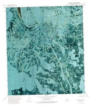 Three Bayou Bay USGS topographic map 29090e1