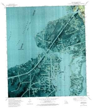 Barataria USGS topographic map 29090f2