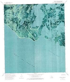 East Bay Junop USGS topographic map 29091b1