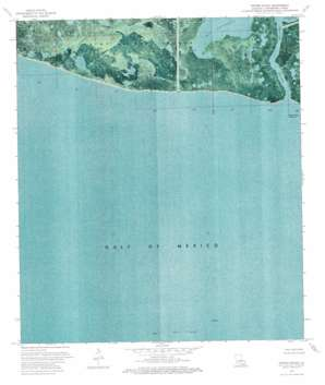 Oyster Bayou USGS topographic map 29091b2