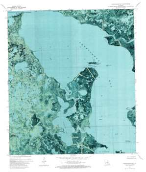 Fourleague Bay USGS topographic map 29091c2